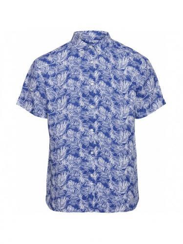 Chemise Larch SS Palm  - Surf the Web - Knowledge cotton apparel
