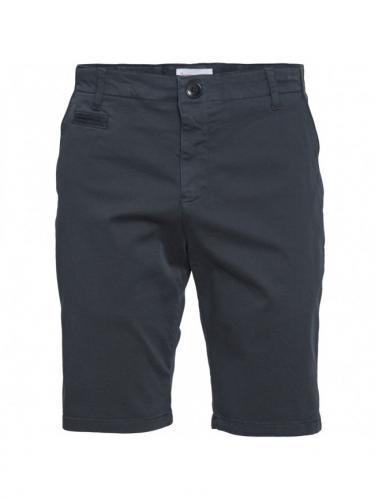 Chuck Regular Chino Short - Total Eclipse - Knowledge cotton apparel
