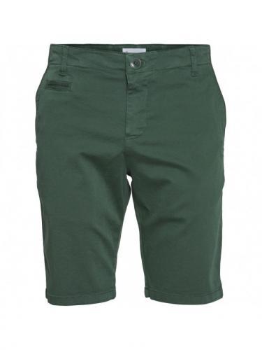 Chuck Regular Chino Short - Pineneedle - Knowledge cotton apparel