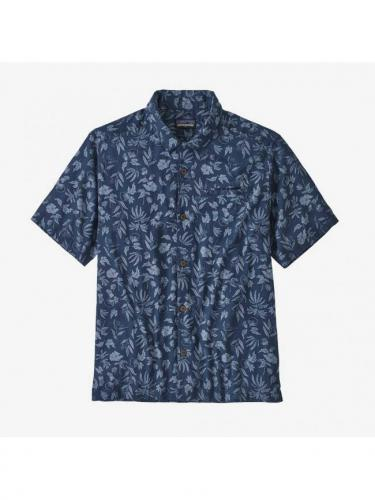 Chemise Light Weight A/C  - Fiber Flora Stone Blue - Patagonia