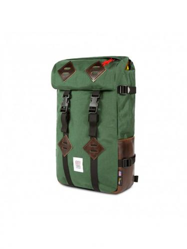 Sac à dos Klettersack - Forest/Dark Brown Leather - Topo Designs