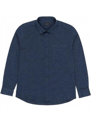 Lucy Shirt - Navy - Bask in the sun