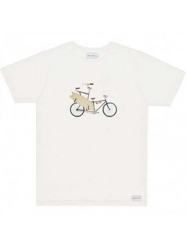 T-Shirt Surfbike - Natural - Bask in the sun