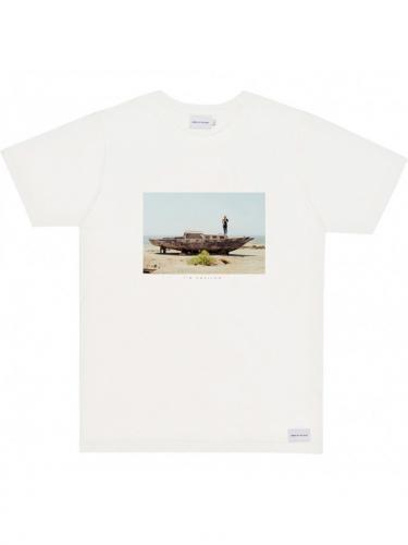 T-Shirt Desert Boat - Natural - Bask in the sun