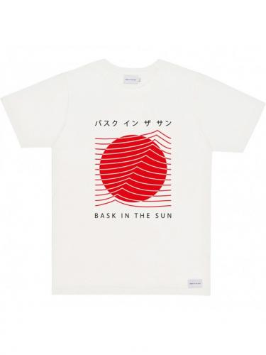 T-shirt Tokyo - Natural - Bask in the sun