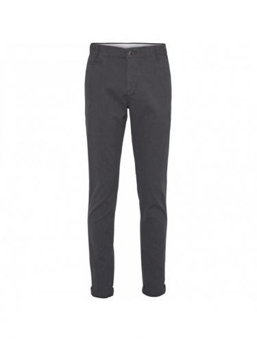 Chino Joe Yarn Dyed - Dark Grey Melange - Knowledge cotton apparel