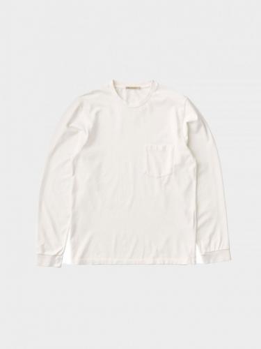 T-shirt Rudi Heavy Pocket - Chalk White - Nudie Jeans