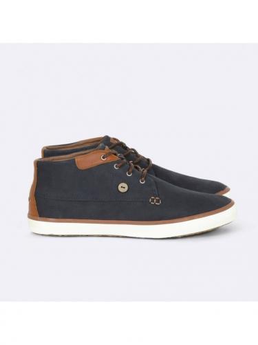 Wattle Leather - Navy - Faguo