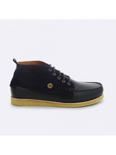 Boots Larchmid Leather - NAV00 - Faguo