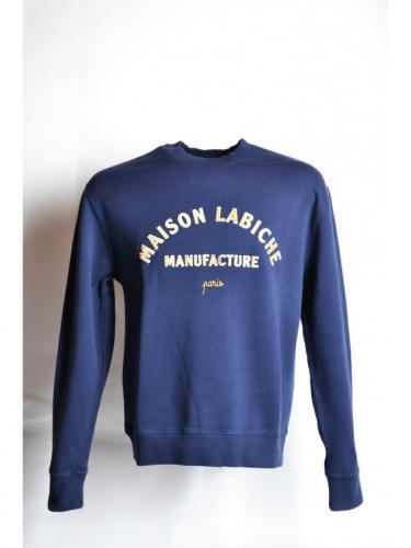 Sweat Classique Manufacture - Midnight Blue - Maison Labiche
