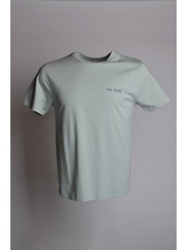 T-shirt Heavy - The Dude - Celadon Green - Maison Labiche