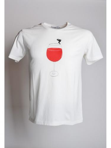 T-shirt Wine - Off White - OLOW