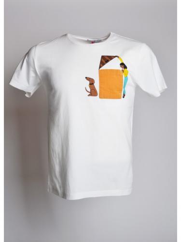 T-shirt Niche - Off White - OLOW