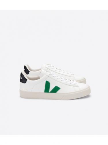 Campo ChromeFree Leather - White / Emeraude - Veja