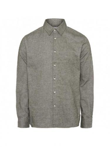 Chemise Larch Casual Fit heavy Flannel - Forrest Night - Knowledge Cotton Apparel