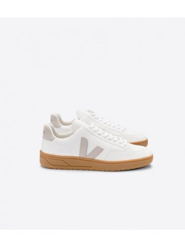 V12 Leather - Extra White / Natural / Gum Sole - Veja
