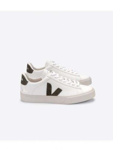 Campo ChromeFree Leather - Extra White / Kaki - Veja