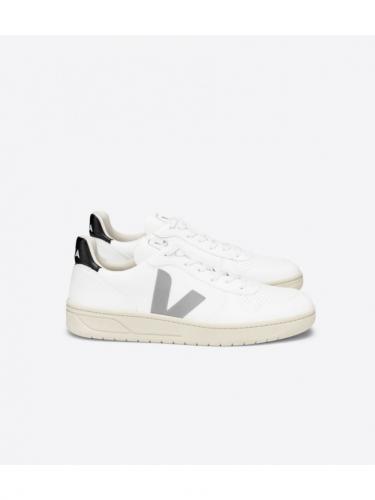 V10 CWL - White / Oxford Grey / Black - Veja