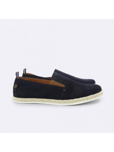 Slip On Privet Suede - Nav00 - Navy - Faguo