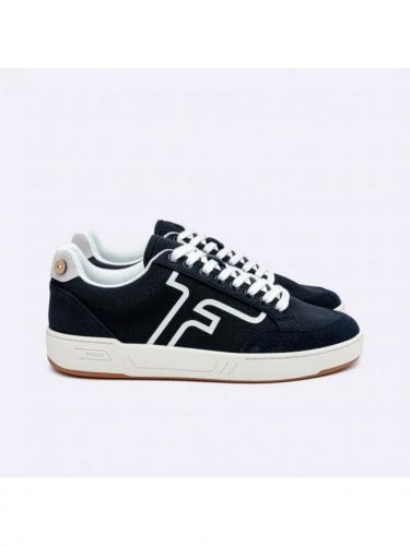 Liden Baskets Cotton - Nav00 - Navy - Faguo