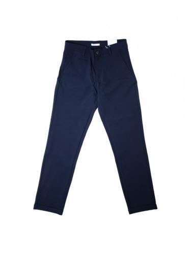 Pantalon Joe Classic EcoVero Club - Total Eclipse - Knowledge cotton apparel