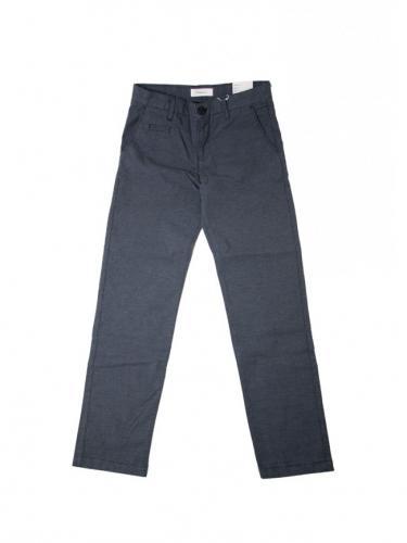 Pantalon Chuck Pattern - Total Eclipse - Knowledge cotton apparel