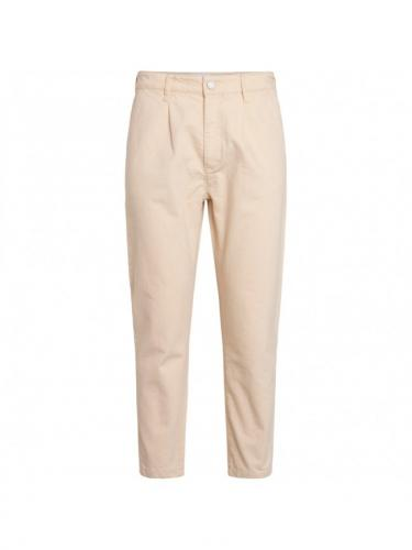 Pantalon Bob Heavy Cotton - Winter White - Knowledge cotton apparel