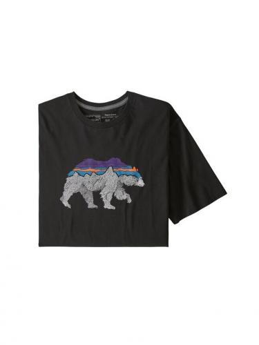 T-shirt Back For Good - Black W/Bear - Patagonia