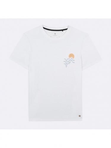 Arcy T-shirt - Whi00 - Sunset - Faguo