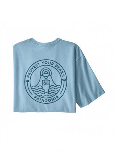 T-shirt Peak Protector Badge Responsabili-tee - Patagonia