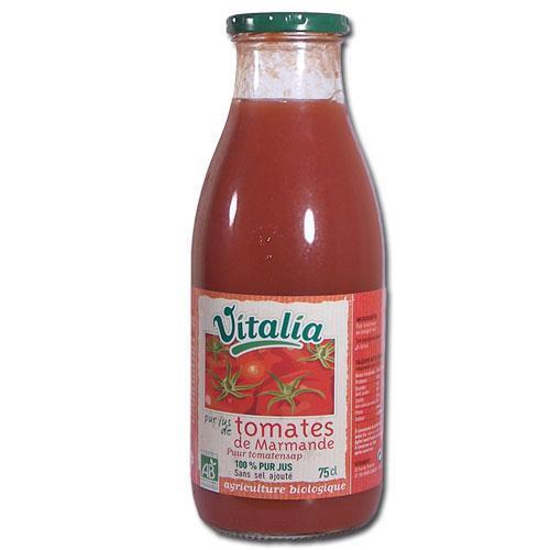 Pur jus de tomates de Marmande bio