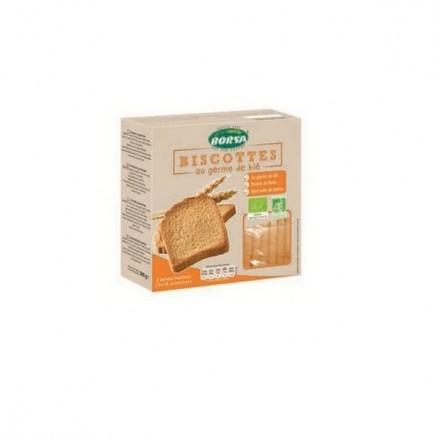 Biscotte farine complète au son et germe de blé bio