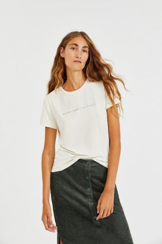 T-shirt écru en lenzing - going - Ecoalf