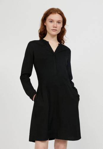 Robe patineuse noire en lenzing - inaari - Armedangels
