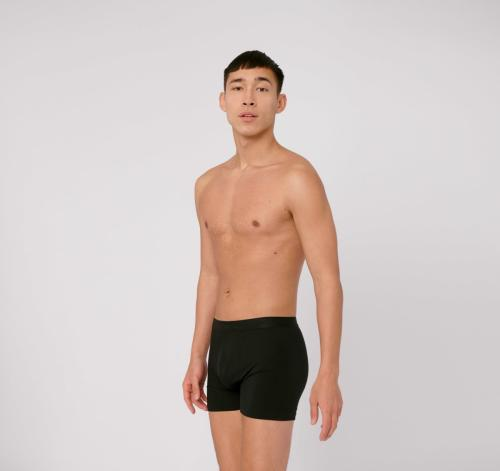 Pack 2 boxers noir en tencel - Organic Basics
