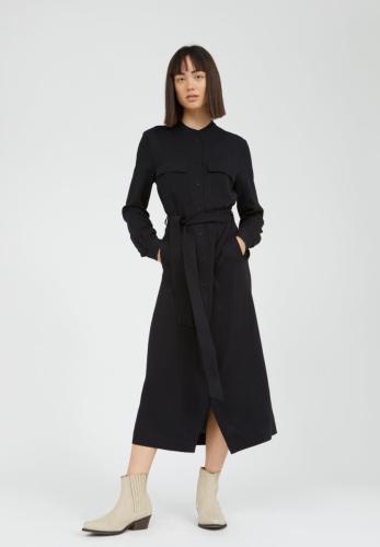 Robe longue noire en lenzing - beantaa - Armedangels