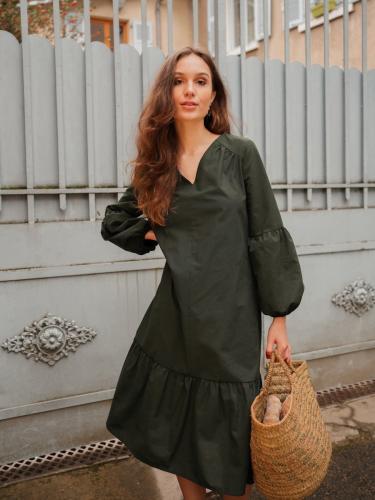 Robe verte - Maison Alfa