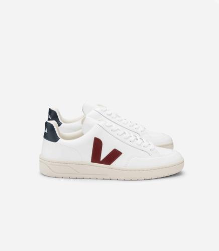 Baskets v-12 extra white marsala nautico - Veja