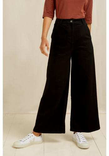 Pantalon ample noir en coton bio - rochelle - People Tree