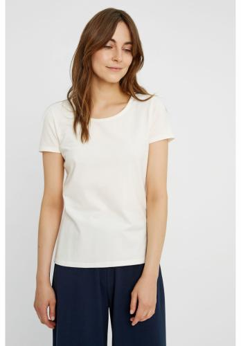T-shirt col rond blanc en coton bio - gaia - People Tree