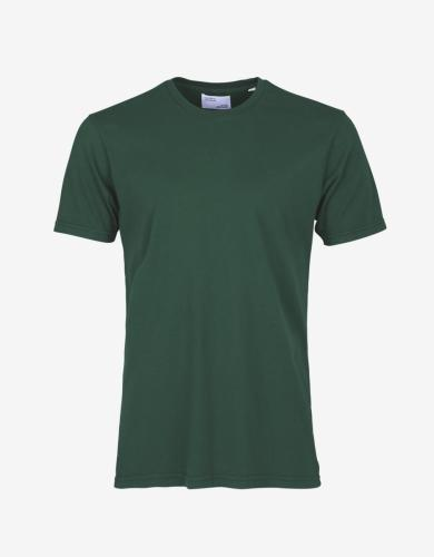 T-shirt vert émeraude en coton bio - emerald green - Colorful Standard