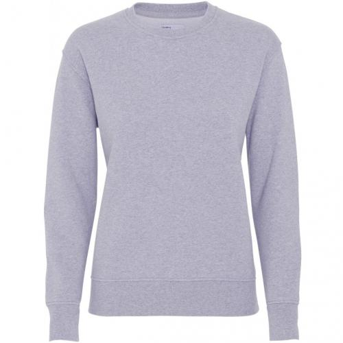 Sweat gris en coton bio - heather grey - Colorful Standard