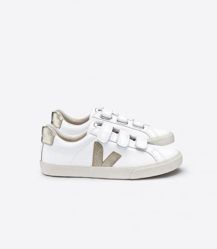 Baskets esplar 3-lock extra white gold - Veja
