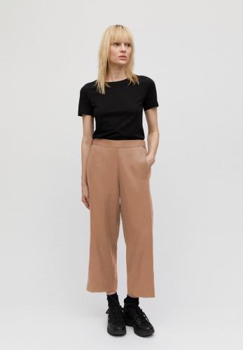 Pantalon ample camel en tencel - kamalaa - Armedangels