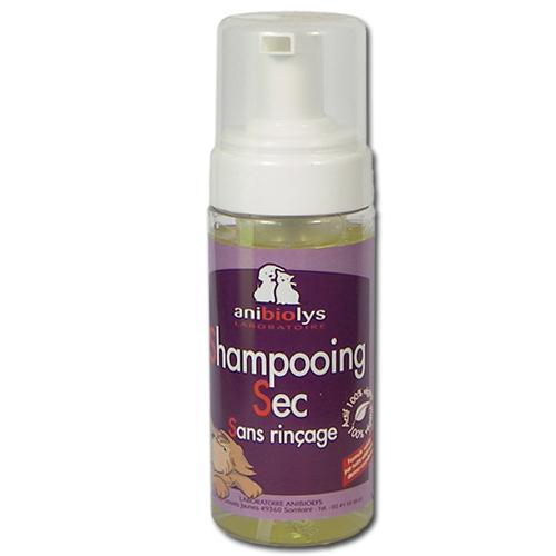 Shampooing sec sans rinçage