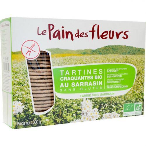 Pain des fleurs au sarrasin 150g