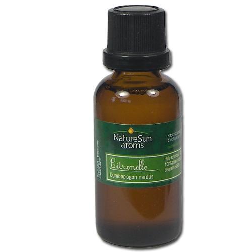 Huile essentielle bio citronnelle 30 ml