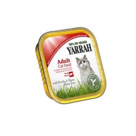 Bouché Poulet - boeuf bio pour chat