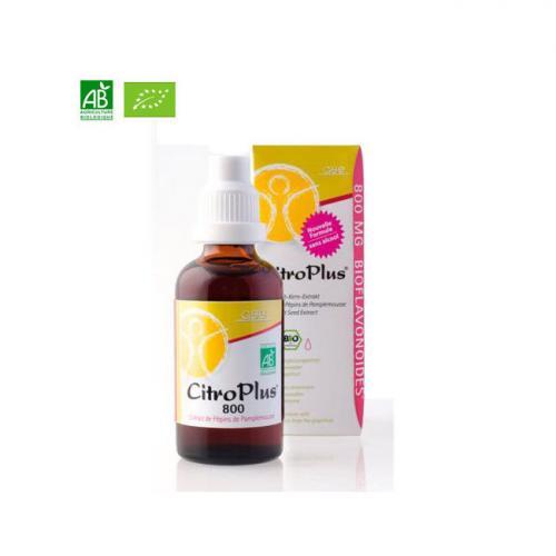Citro Plus 800 mg - Extrait de Pépins de Pamplemousse Bio 50ml