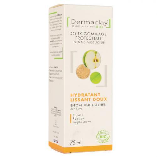 Gommage Visage Bio Hydratant Peaux sensibles Dermaclay 75ml